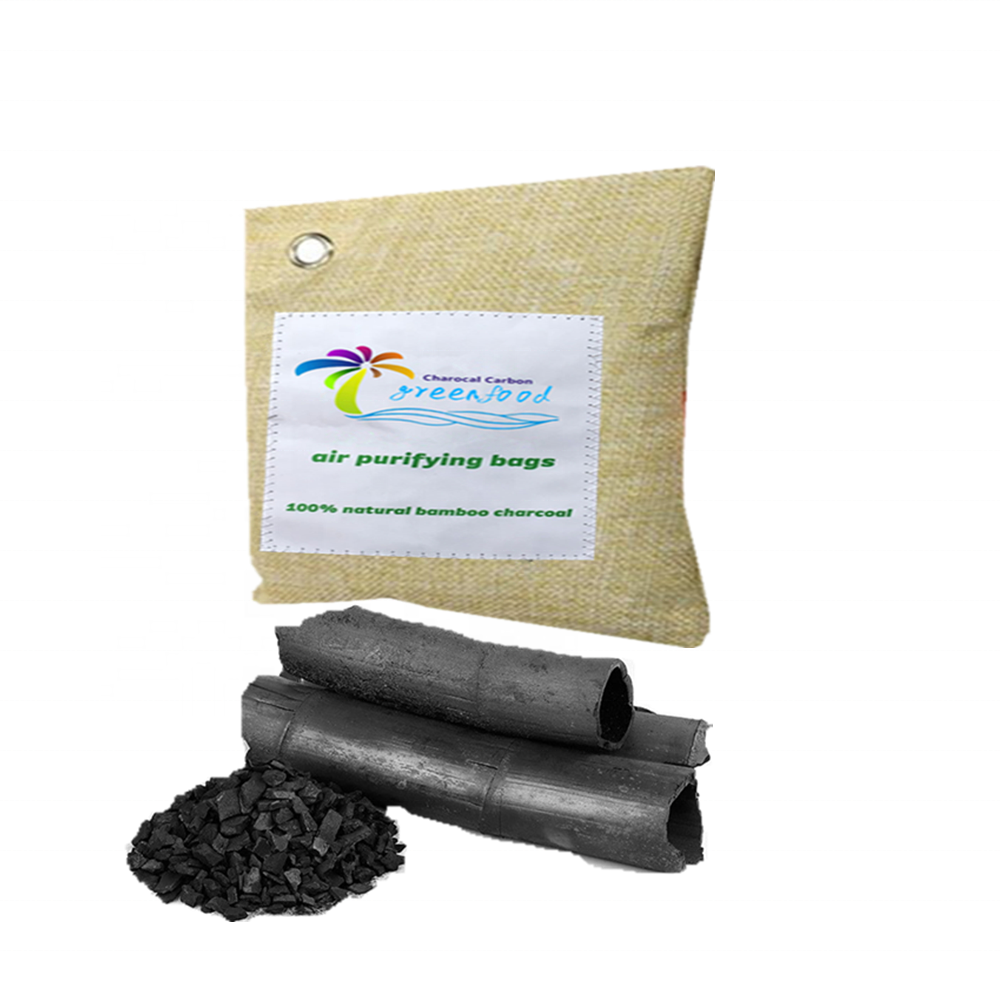 75g 200g 500g Custom Brand Logo Bamboo Charcoal / odor Absorber / activated Carbon <strong>Air</strong> Purifying Bags