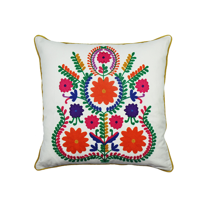 Most selling product in China london embroidered pillow case for home decor