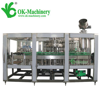 small carbonated drinks filling machine