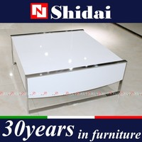 High Gloss Wooden Coffee Table Modern With Storage TA-817