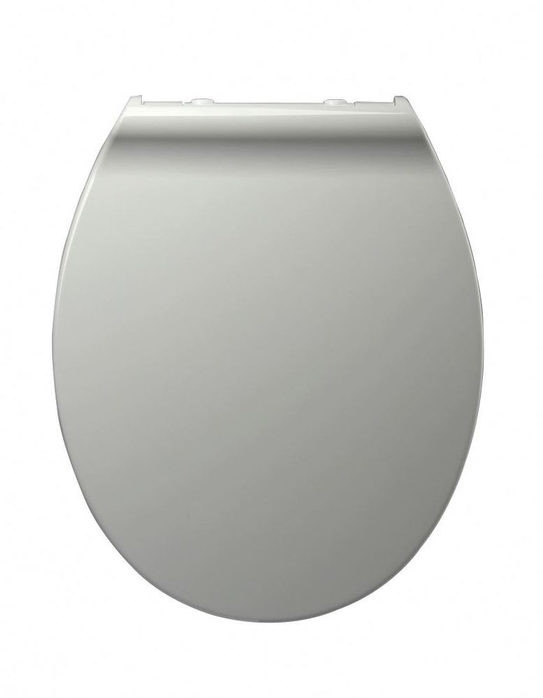 White Wooden Toilet Seat Soft Close Slow Close Round Closed Front