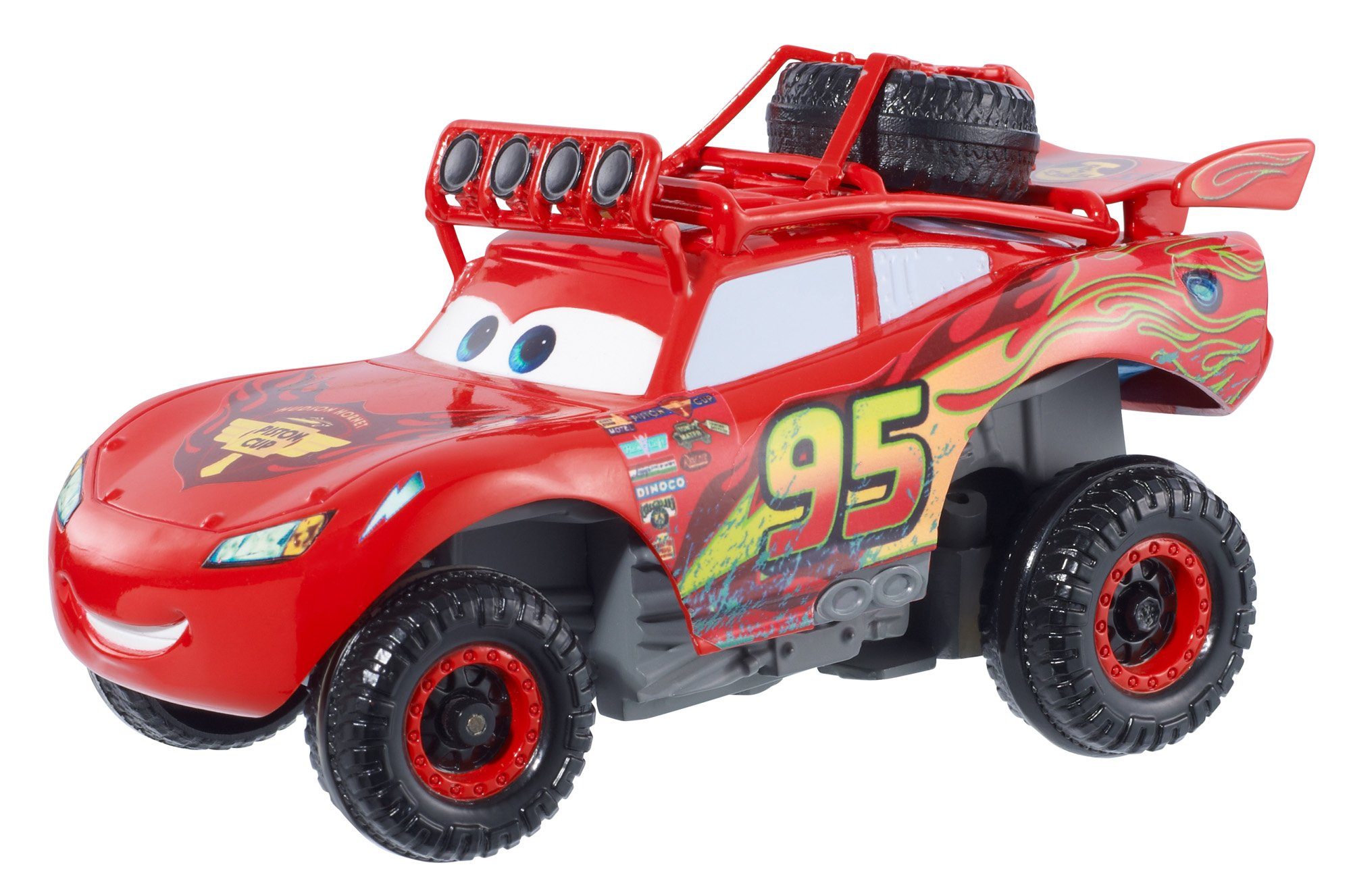 Disney/Pixar Cars Radiator Springs 500 1/2 Wild Racer Lightning McQueen Pullback Vehicle