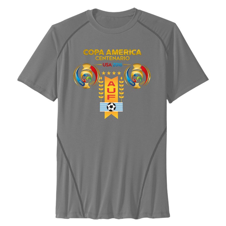Get Quotations · Mens Uruguay Football Dry Compression Performance Tshirt -  Training Custom T Shirts 2e1406206