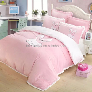 warm pretty 260 gsm heart flannel bedding sets micro fleece duvet cover