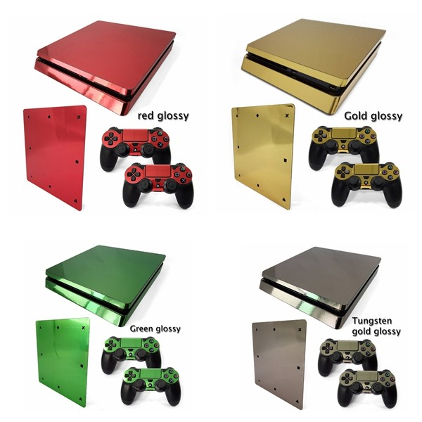 Newest Removable Decal Novelty Console Skin Sticker For Ps4 Slim ...