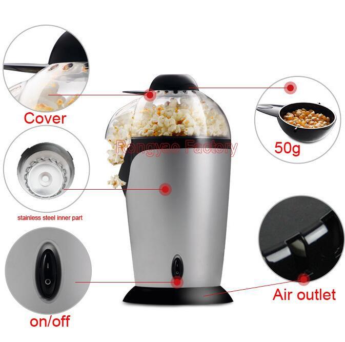 Small Home Use Electric Mini Popcorn Machine Popcorn Maker Making Machine
