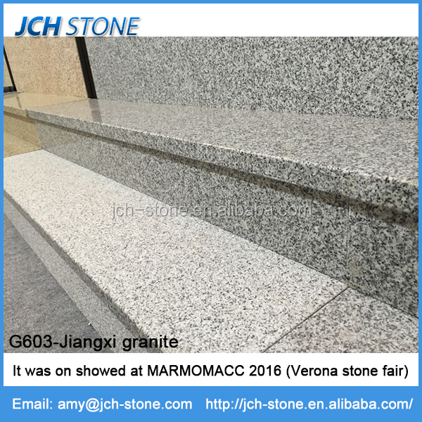 Jiujiang quarry G603-JX grey granite tiles and paving stone 60x30 cm polished or flamed
