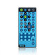 DT-28 universal dvd player remote control in Blue for American maerket