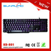 Compact Design Mechanical Gaming Keyboard with Tactile High-Speed Keys - Black