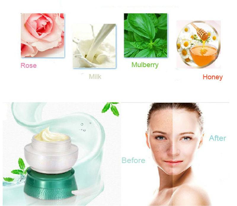 OEM Rose Skin Whitening Cream