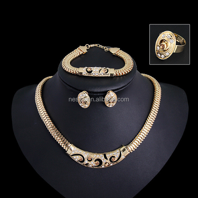Fashion gold filled jewelry set wholesale Ca174