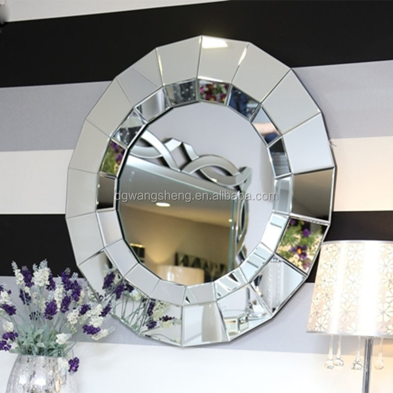 modern round wall mounted side mirror