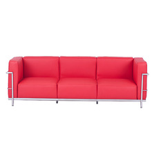 Modern cheap heated leather reclining 3 Seats Living Room furniture Sofa