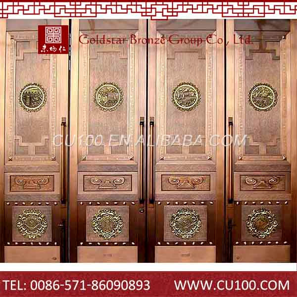 Factory direct supply high quality security imitated cooper door