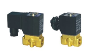 Direct acting and normally closed type 2/2 way solenoid valve 2W series fluid control valves