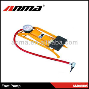 Single tube air operated double inline air pump