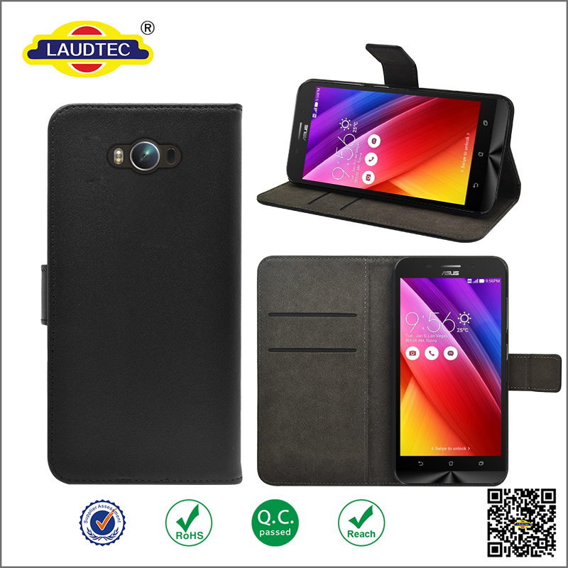 flip leather Case for asus zenfone <strong>max</strong> ZC550KL ,premium leather wallet case