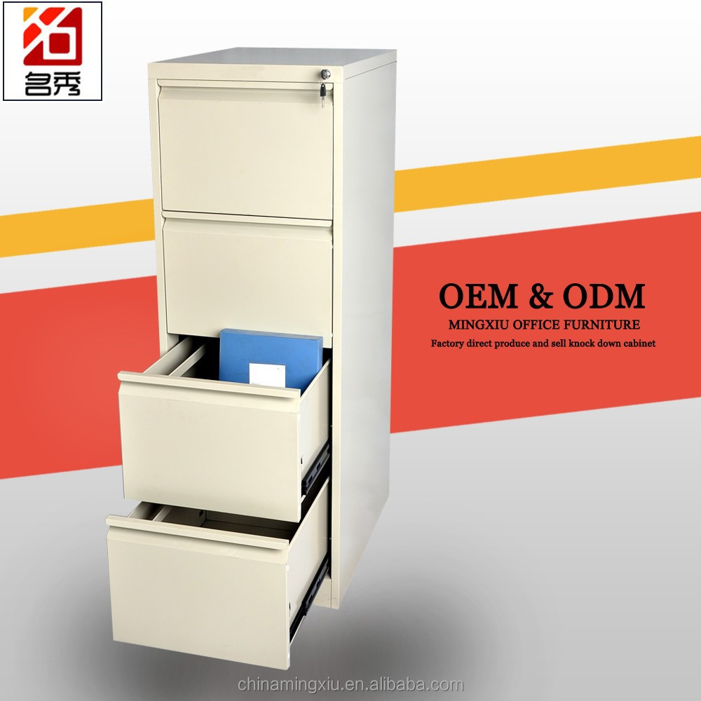 Stainless steel 4 drawer storage cabinet/ tool cabinet/vertical filing cabinet