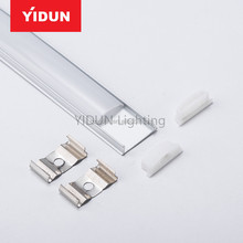 Yidun Lighting Flush Mount Aluminum LED Fixture Profile Channel Housing Strip Lights DIY Lights