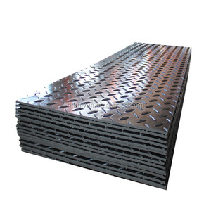 hdpe plastic 4x8 ft ground protection mats and heavy duty equipments mat