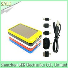 Super speedy 2600mah rohs solar cell phone charger from China's best supplier