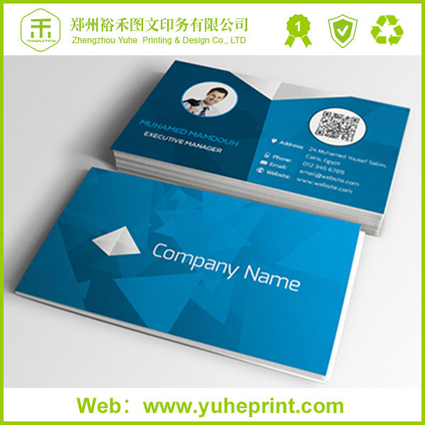 CMYK colorful free design customize special shape thick spot uv business card printing