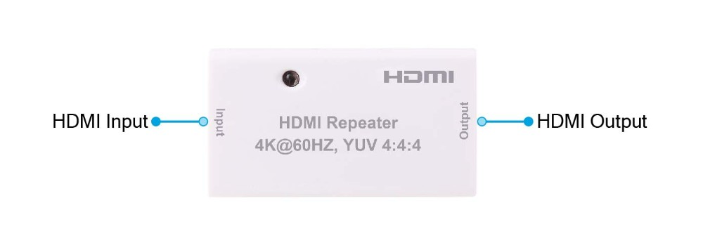 Foxun/OEM HDMI 2.0 Version HDMI Repeater/Extender ,Support 4k@60hz YUV 4:4:4