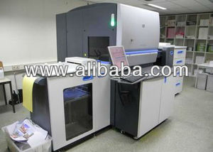 RECONDITIONED HP INDIGO 5500 - 6 COLORS - YEAR 2009