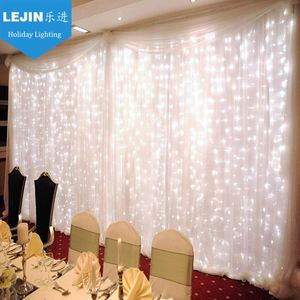 wall decorative curtain light in white led and purple led curtain wall light
