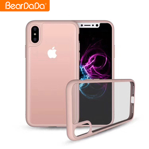 High Quality 0.38mm clear acrylic back cover phone case for iphone xr xs xs max