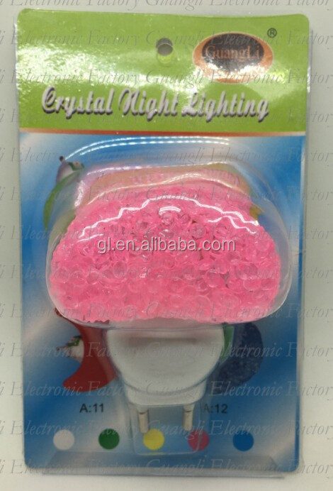 A12 love Heart EVA mini switch LED nightlight CE ROHS approved HOT SALE promotional gift items