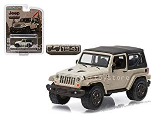 GREENLIGHT 1:64 ANNIVERSARY COLLECTION SERIES 3 - 2016 JEEP WRANGLER 75TH ANNIVERSARY EDITION