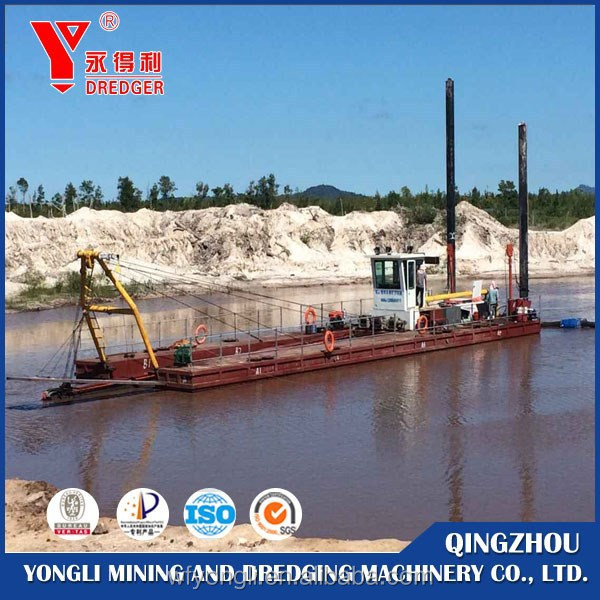 dredger machinery used for sea/river
