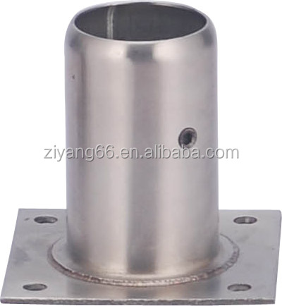 Commercial kitchen equipment accessories Stainless steel leg socket for microwave oven cabinet