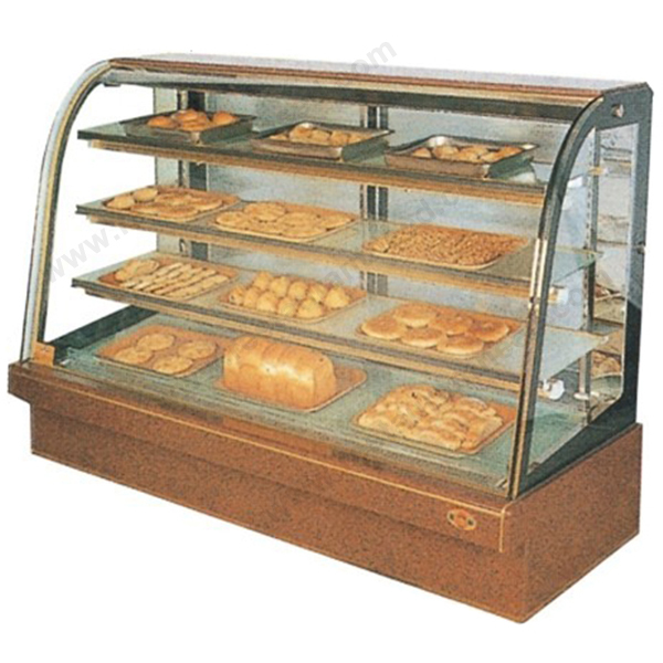 Commercial Hotel Kitchen Equipment 1.2M 4 Layers Bakery Showcase For Bakery