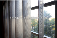 Aluminum vertical blinds, Aerofoil sun louvers