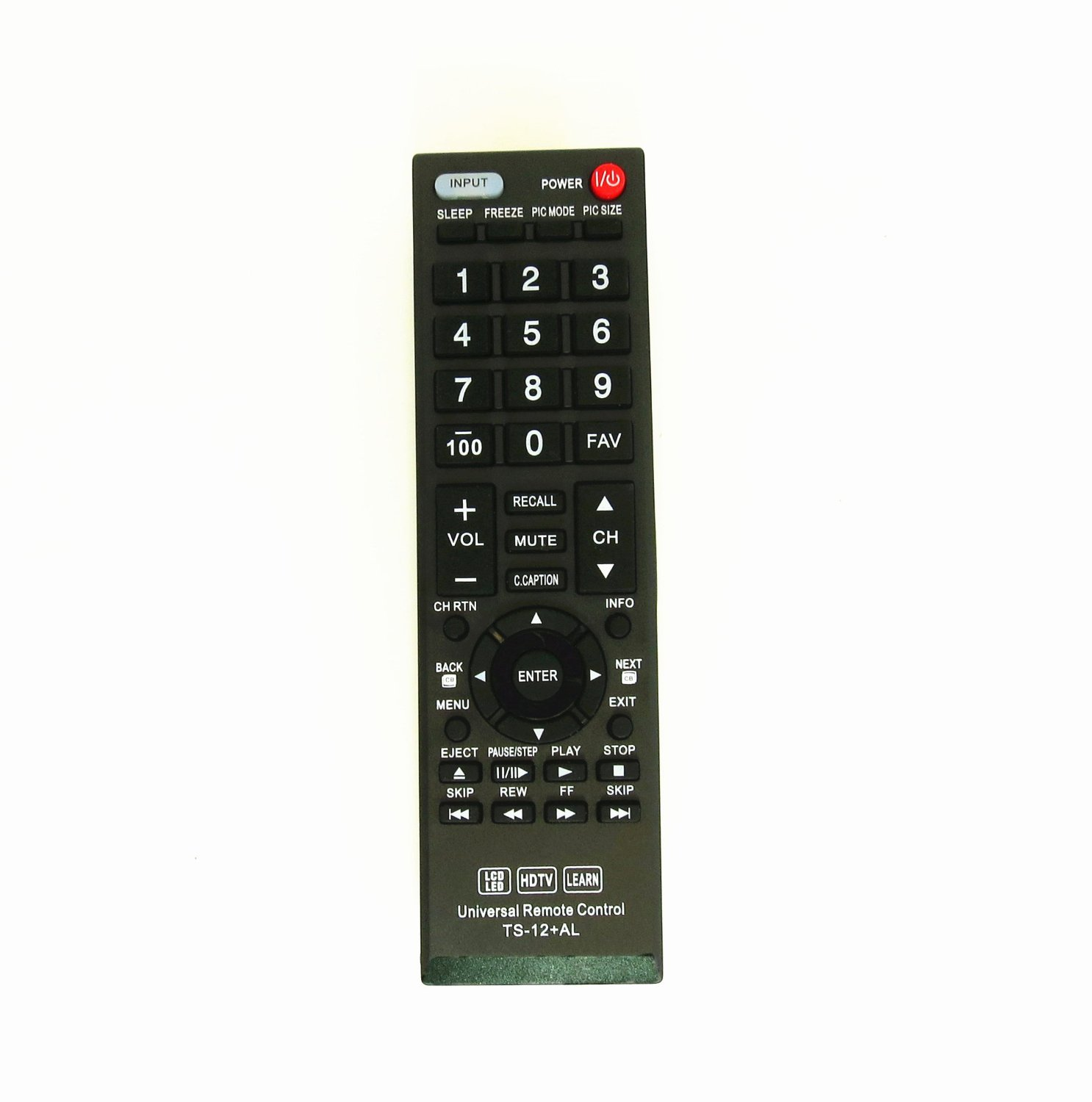Gvirtue Universal Remote Control Compatible Replacement for Toshiba TV/ HDTV/ LCD/ LED, CT-90325 CT-90326 CT-90329 CT-8037 CT-90302 CT-90275 CT-90 CT-90366