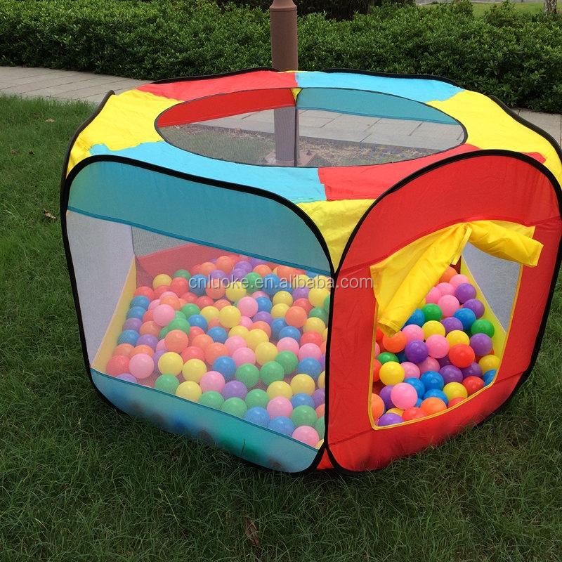 Colorful six c t enfants jeu tente piscine balles tente for Piscine a balle