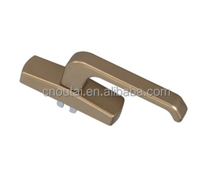 Hot sale upvc inward opening casement Window handle plastic door handle