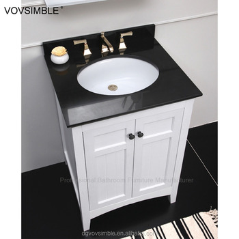 New Model Solid Wood Bathroom Furniture Cabinet American Style Mirror
