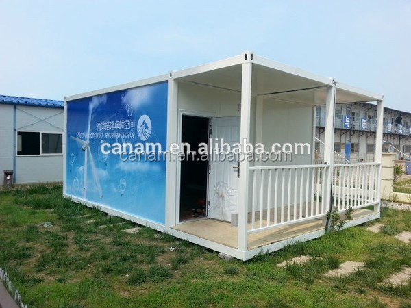 prefabricated light steel frame 40ft container house floor plans