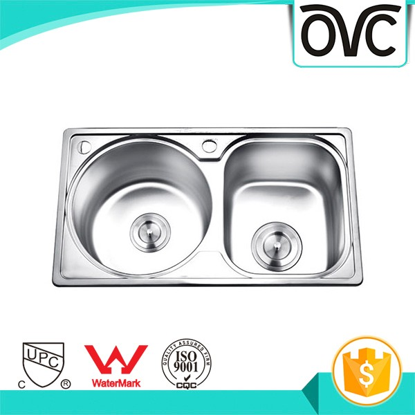 Best Quality Mini Kitchen Sink High Capacity Cheap Steel