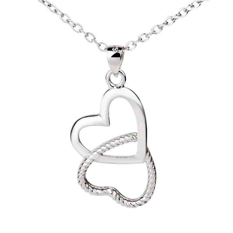 heart necklace for couples - photo #32