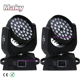 LED Moving Head Wash Light LED Zoom Wash 36x10W QUAD LED RGBW /RGBWAUV Color DMX Stage Moving Heads Wash Touch Screen