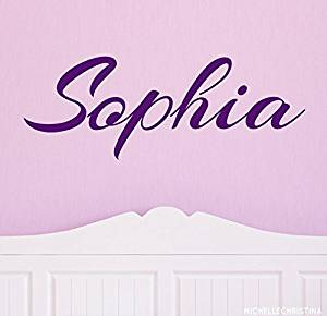 Get Quotations · Personalized Childrens Name Wall Decal - Script Nursery Wall Decal - Baby Girl Name Decal -  sc 1 st  Shopping Guide - Alibaba & Cheap Wall Decal Personalized find Wall Decal Personalized deals on ...