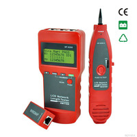 Multi Digital lcd cable tester for network and telephone wires