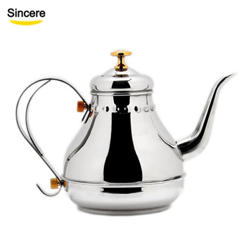 High quality stainless steel kettle tea kettle Pour Over Coffee Kettle