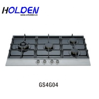 Commercial Gas Stove Burner Built in 4 burner hob With Cooking Gas Accessories