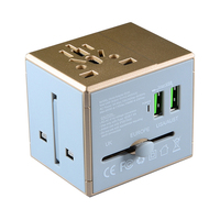 Hot Sell USB Universal Travel Plug Adapter Premium Gift