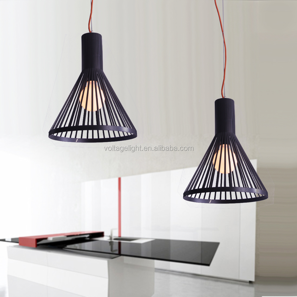 decorative led black iron line pendant lighting with red cable ceiling hanging pendant light cable pendant lighting